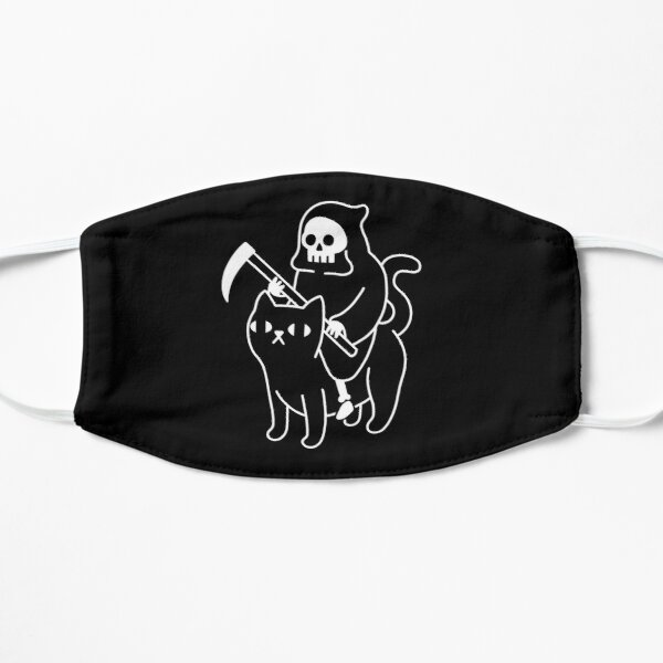 Death Rides A Black Cat Mask
