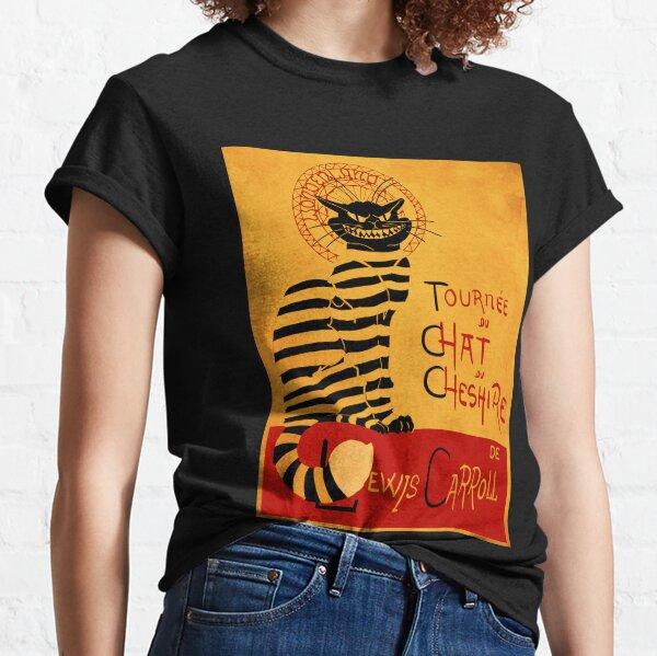 Chat du chesire T-shirt classique