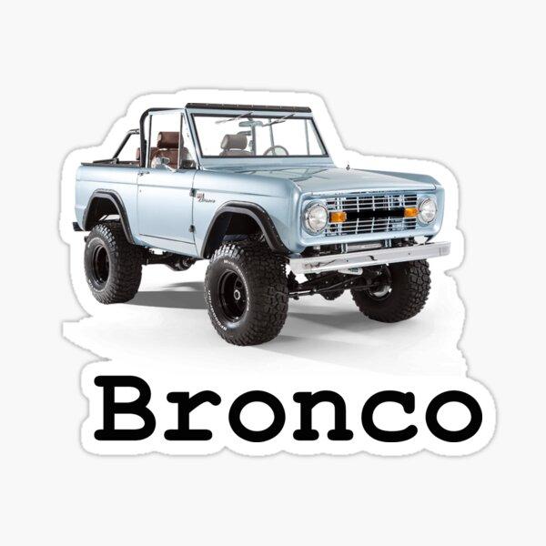Topless Bronco Sticker