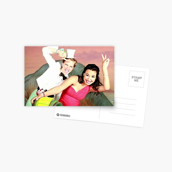 Santana and Brittany Postcard