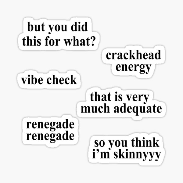 Meme Set 4 Sticker