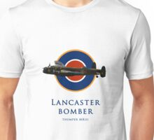 Lancaster bomber logo Unisex T-Shirt