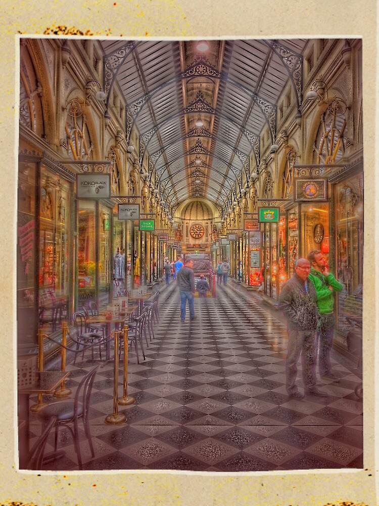 Royal Arcade Melbourne by Keith G. Hawley