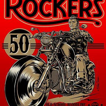 Rockers bikers by NanoBarbero