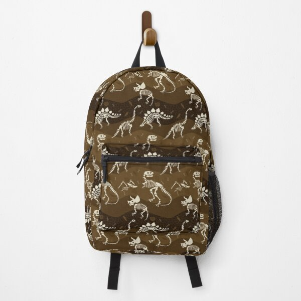 Dinosaur Fossil Pattern Backpack