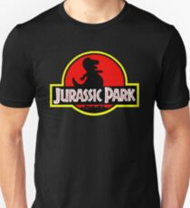 Barney X Jurassic Park Unisex T-Shirt