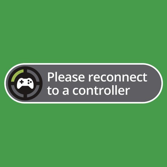 TShirtGifter presents: Please reconnect to controller | Unisex T-Shirt