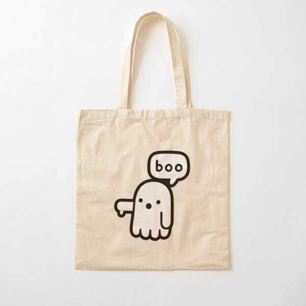 Ghost Of Disapproval Cotton Tote Bag