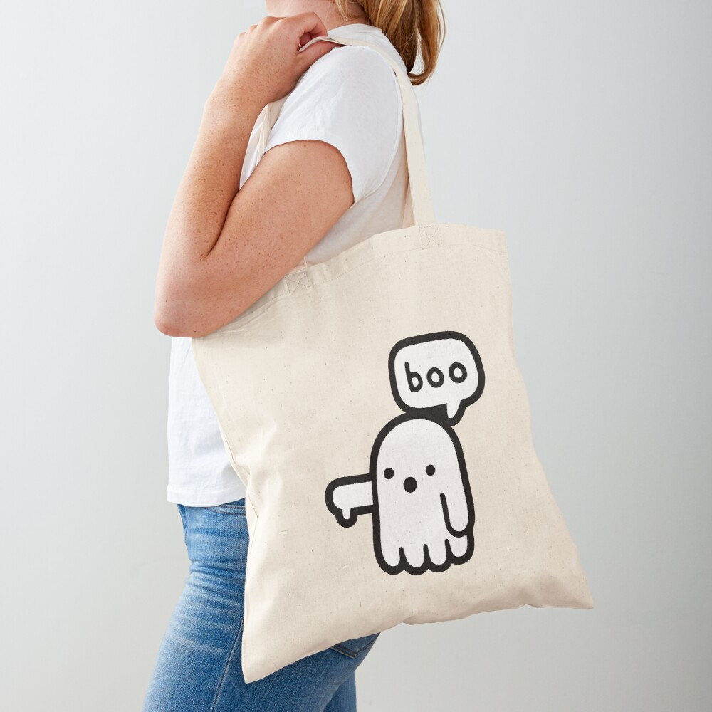 Ghost Of Disapproval Tote Bag