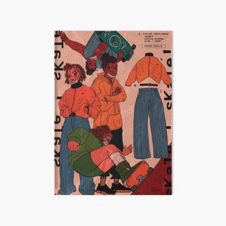 sk8 buddies - Suki, Sokka Art Board Print