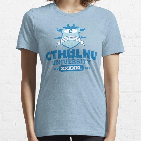 Universidad de Cthulhu Camiseta esencial