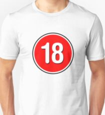 Rated 18 T-Shirt