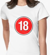 Rated 18 Women's Fitted T-Shirt
