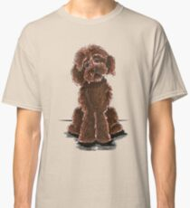 Chocolate Labradoodle Classic T-Shirt