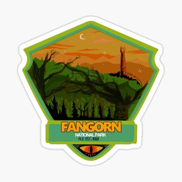Fangorn Forest National Park Sticker