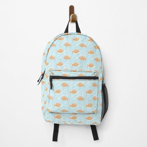 Fish Mosaic Backpack