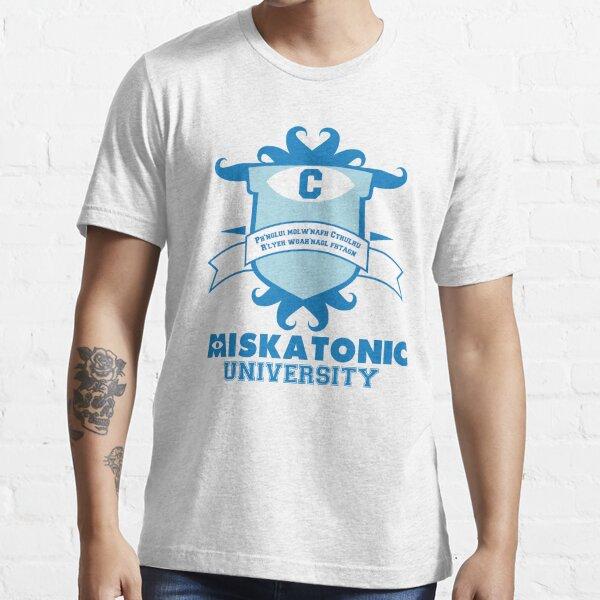 Universidad de Miskatonic Camiseta esencial