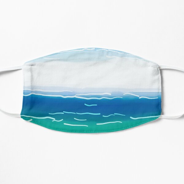 Abstracted Beach Mask