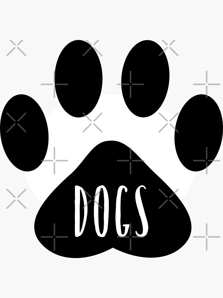 Dogs Paw Print Seal by chanzds