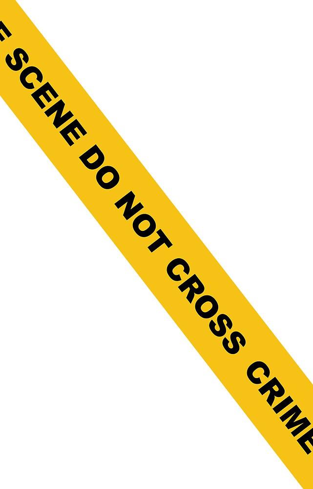 Crime Scene Do Not Cross 1 by Yusius