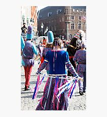Bruges -  Pageant of the Golden Tree Photographic Print
