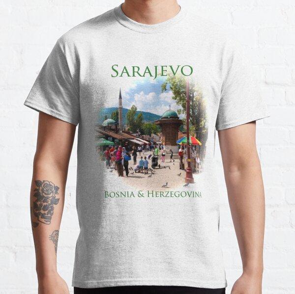 Sarajevo, Bosnia & Herzegovina: Pigeon Square Classic T-Shirt