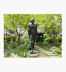 Gandhi Statue, Union Square Park, New York City  Photographic Print