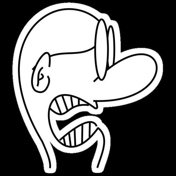 Strange Angry Man by GenerationShirt