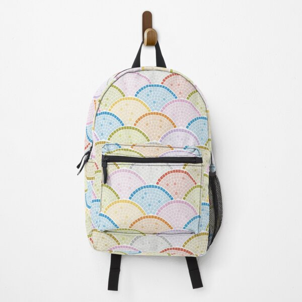 Mosaics Archs - Bright Day Backpack
