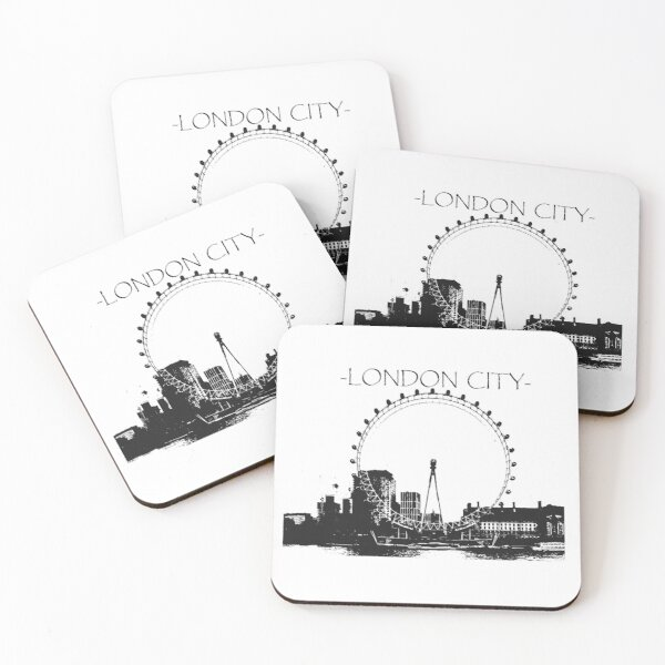london city Coasters (Set of 4)