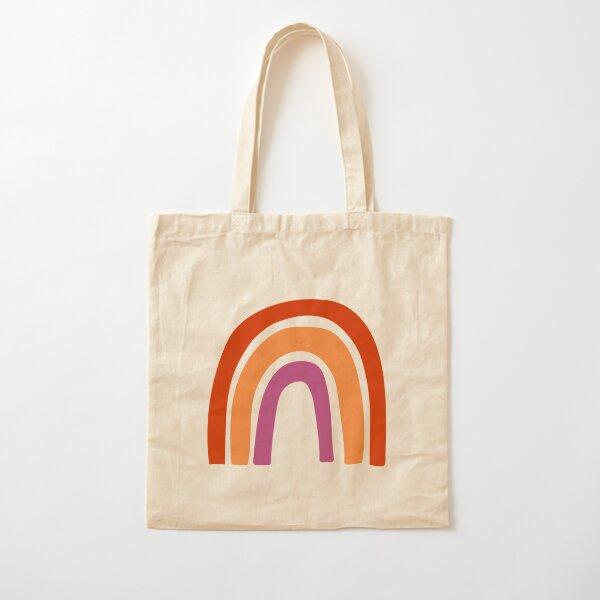 WLW Rainbow Cotton Tote Bag