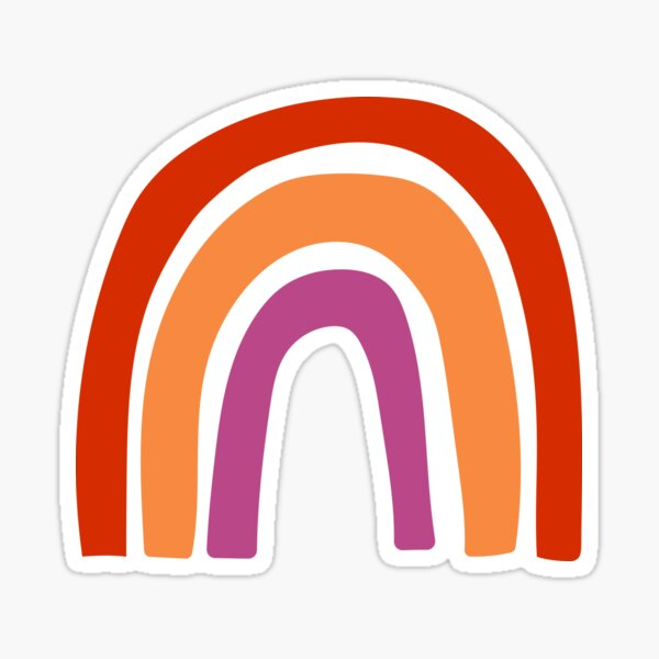 WLW Rainbow Sticker