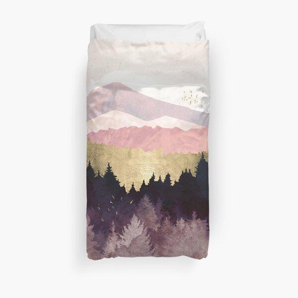 Plum Forest Duvet Cover