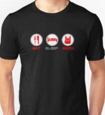 Eat Sleep Rock Unisex T-Shirt
