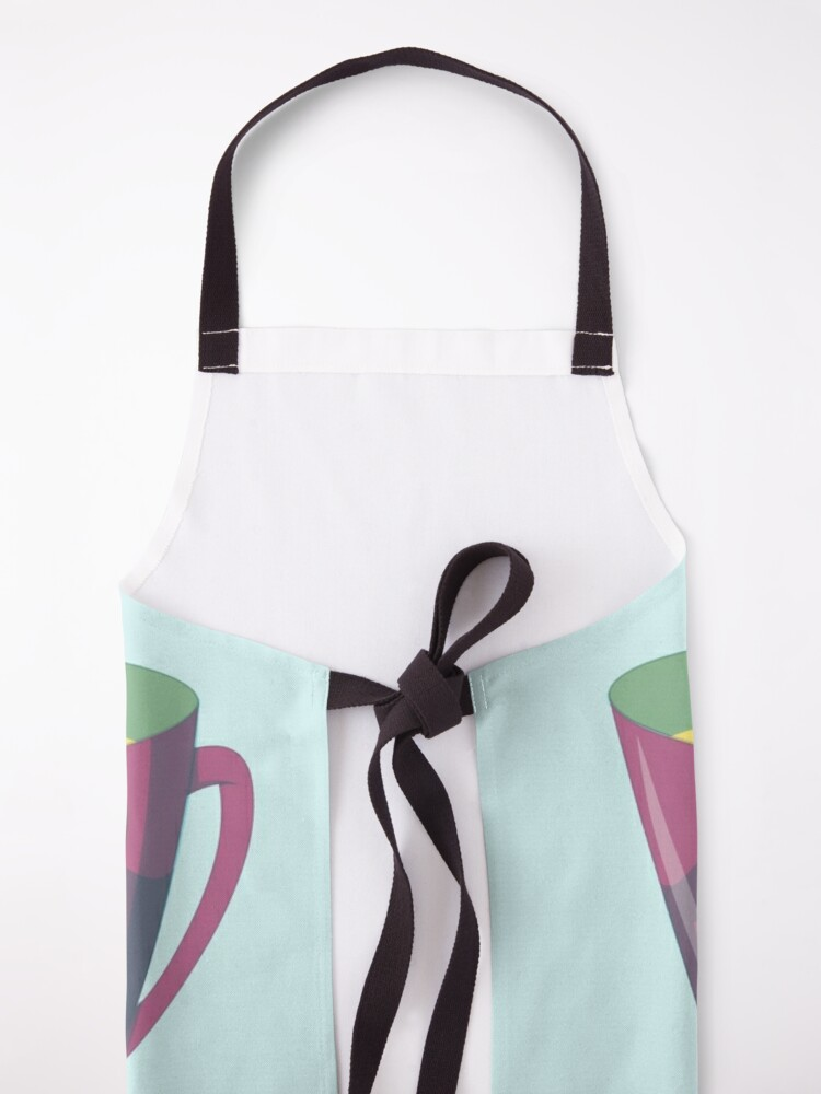 Alternate view of Teacup Sloth Apron