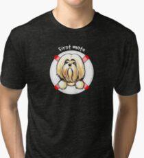 Lhasa Apso :: First Mate Tri-blend T-Shirt
