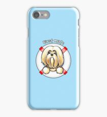 Lhasa Apso :: First Mate iPhone Case/Skin