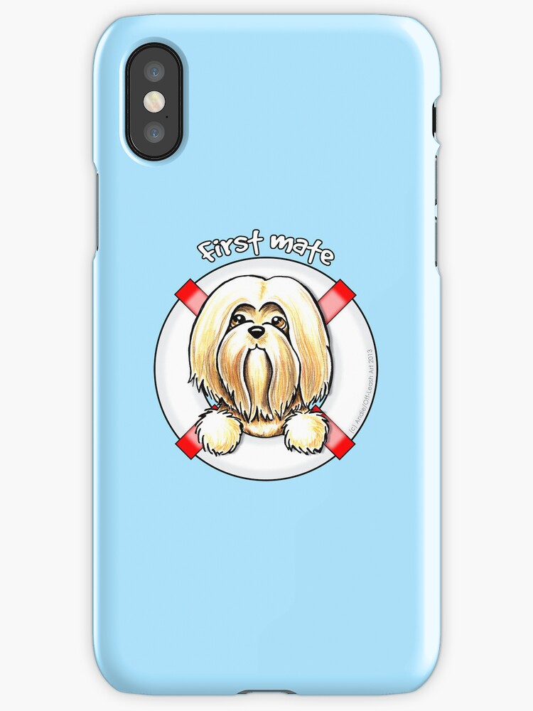 Lhasa Apso :: First Mate by offleashart