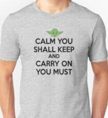 YODA - STAR WARS - KEEP CALM T-Shirt