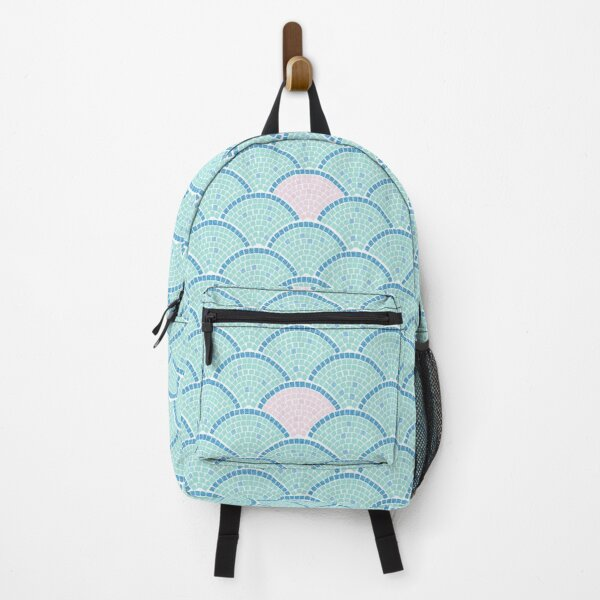 Mosaic Archs_Mint and Rose Backpack