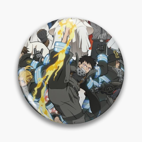 Fire Force Design  Pin
