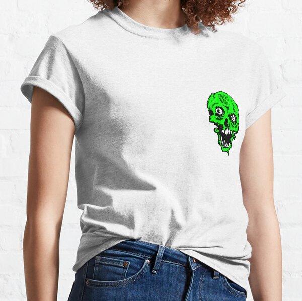"""Skate Rags"" Vintage Skate Grafikgrün Classic T-Shirt"