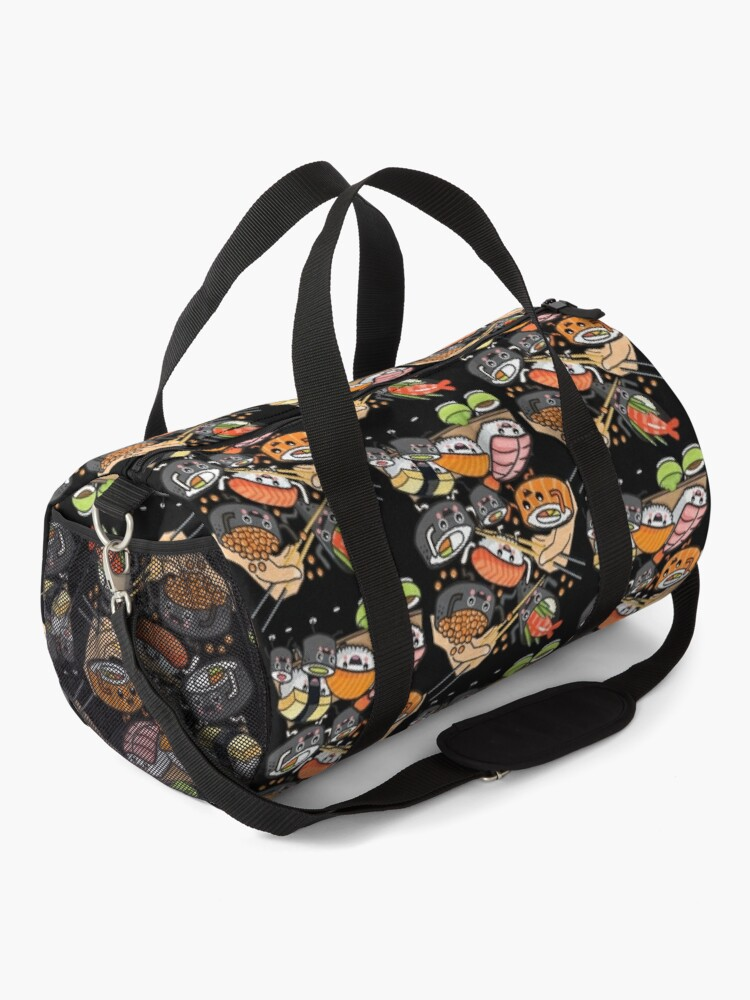 Alternate view of Sushi Party! Duffle Bag