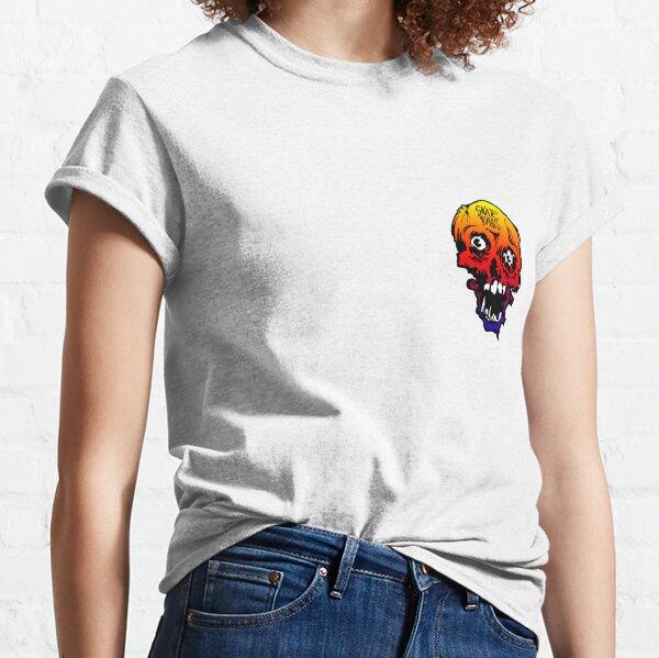 """""""Skate Rags"""" Vintage Skate Grafik Regenbogen Classic T-Shirt"""