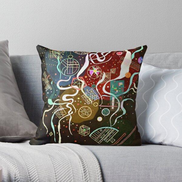Kandinsky - Movimiento I, arte abstracto Cojín