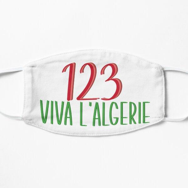 123 viva algerie Masque sans plis