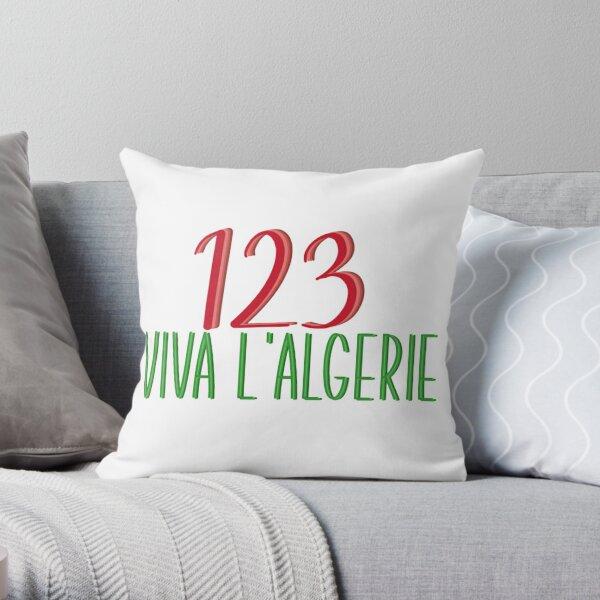 123 viva algerie Coussin
