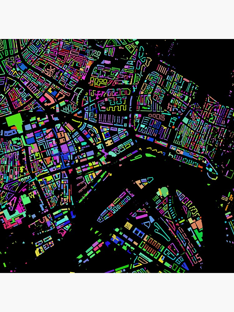 Rotterdam City of Colours (without text) by jvdkwast