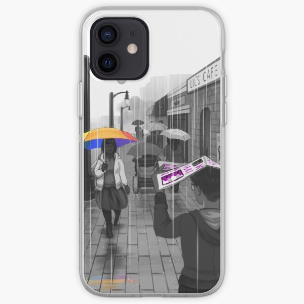 Passing in the Street iPhone Soft Case