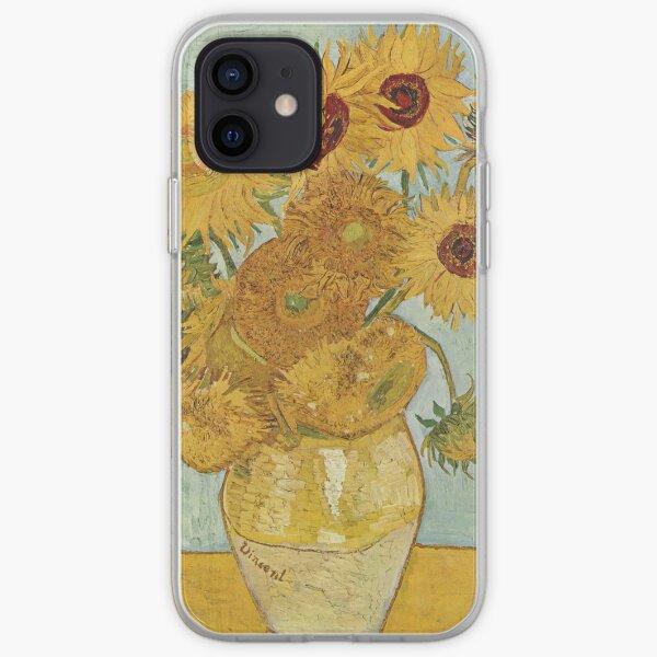 Girasoles - Van Gogh Funda blanda para iPhone